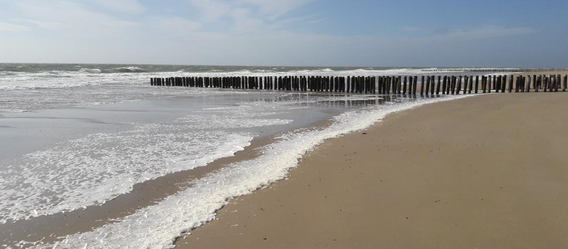 Structureel schonere stranden